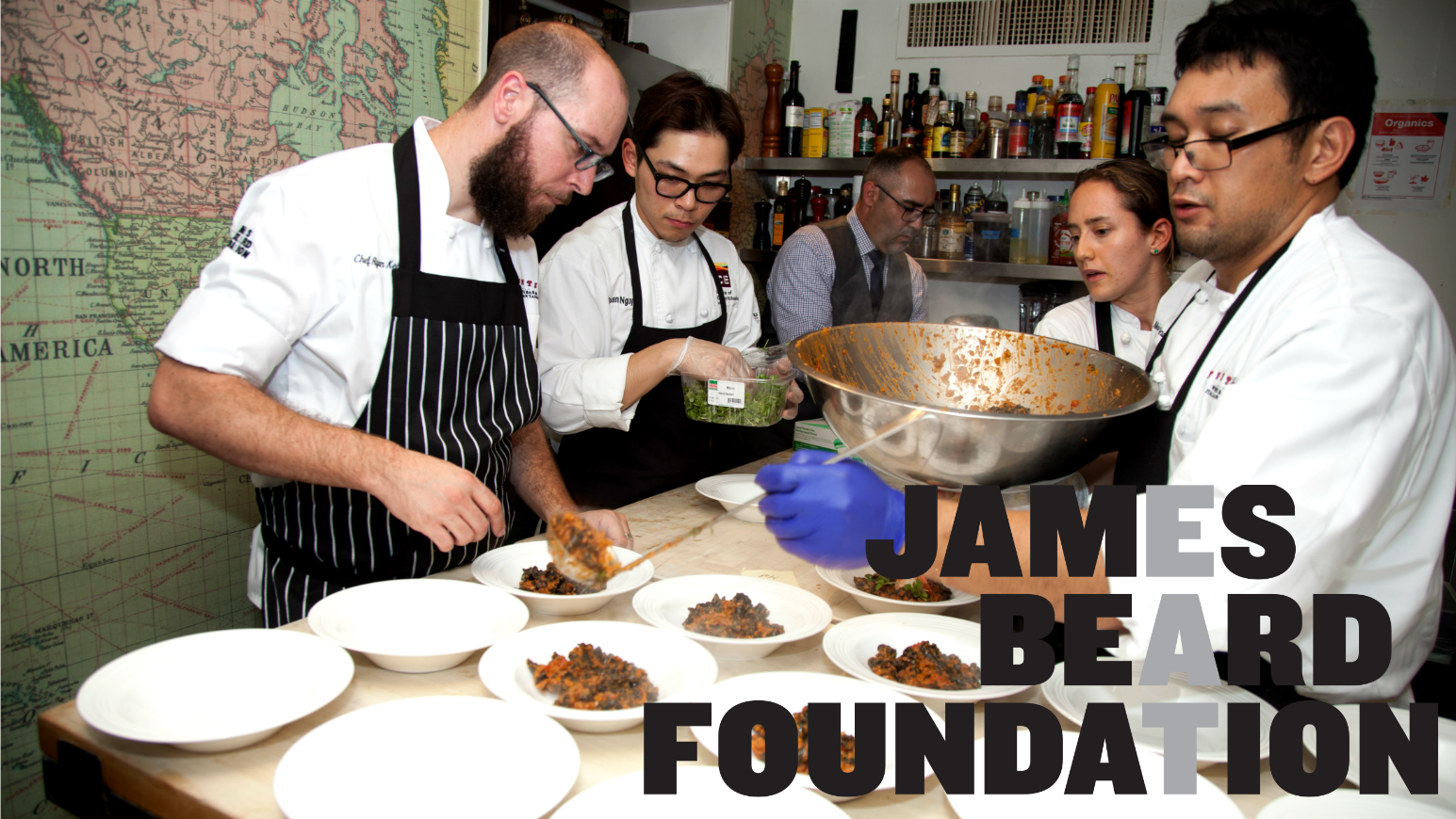 chef ryan at the james beard house