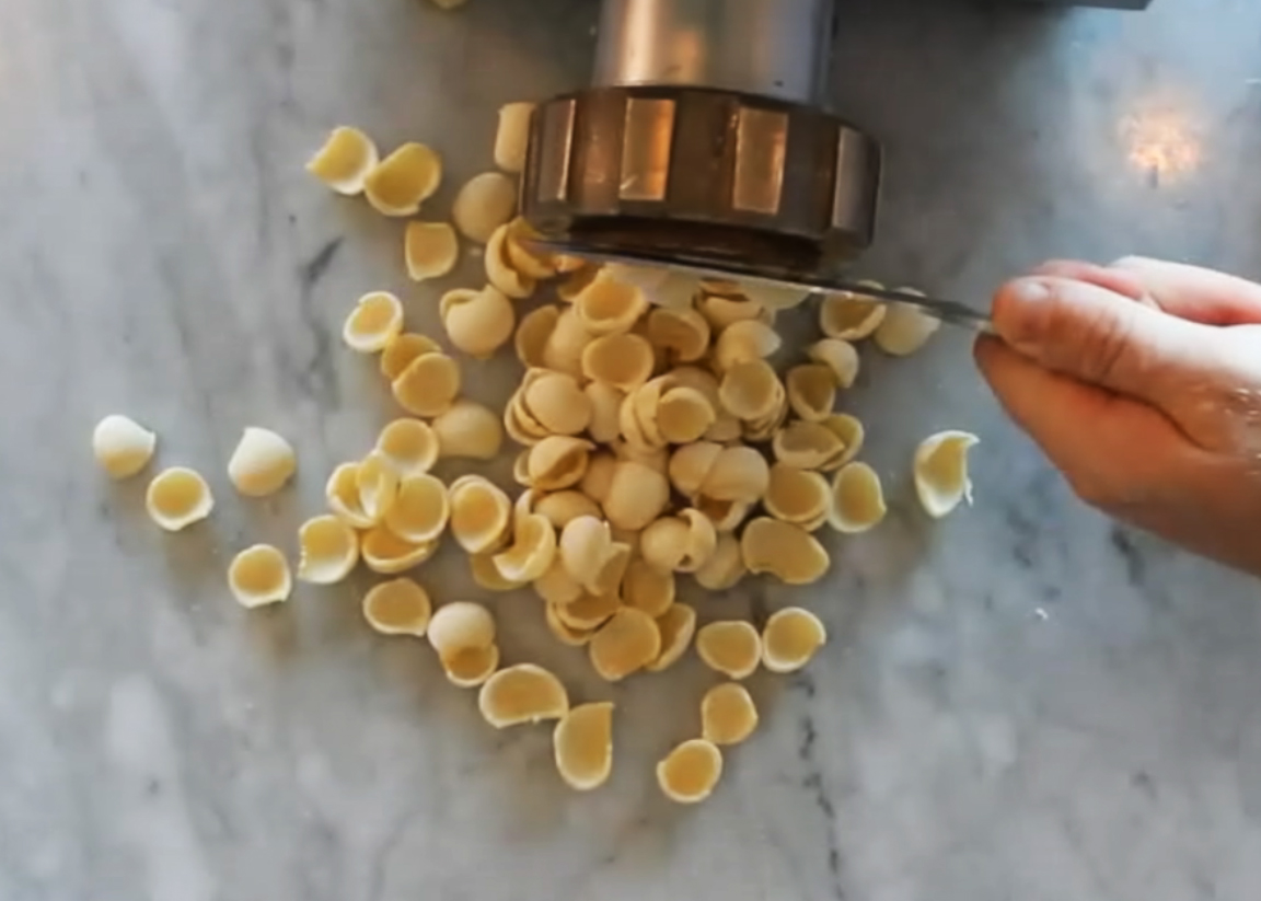 Fresh pasta making