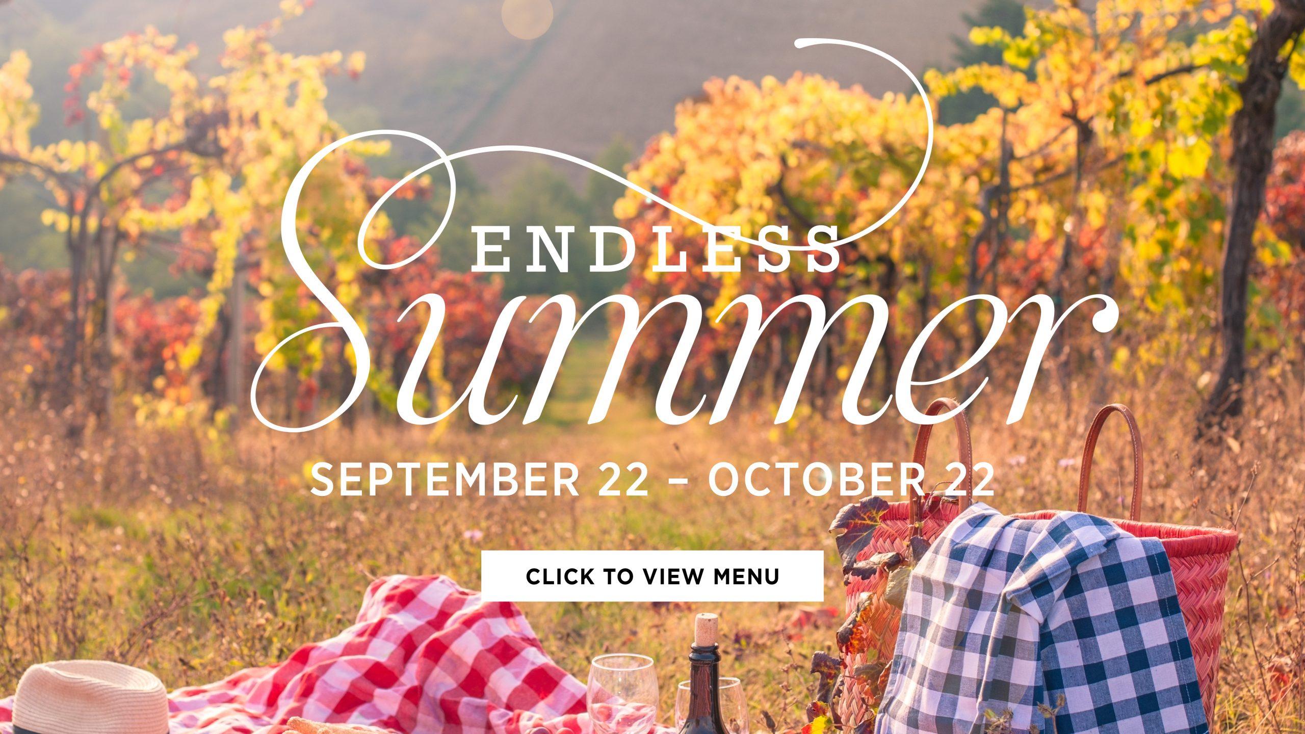 endless summer menu