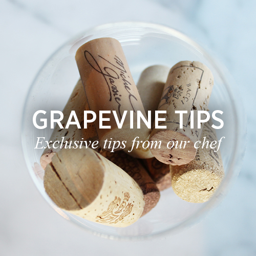 Grapevine Tips