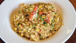 lobster corn risotto