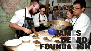 chef ryan at the james beard house